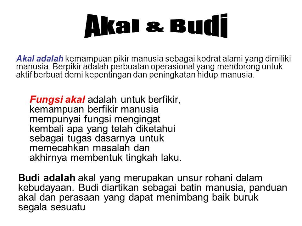 Akal & Budi