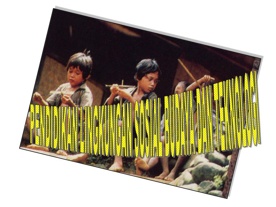 PENDIDIKAN LINGKUNGAN SOSIAL BUDAYA DAN TEKNOLOGI