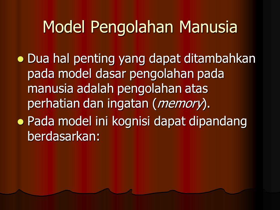 Model Pengolahan Manusia