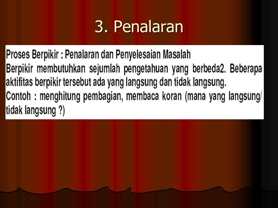 3. Penalaran