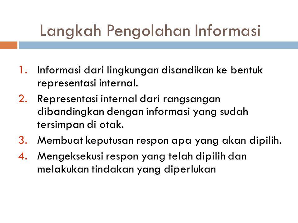 Langkah Pengolahan Informasi