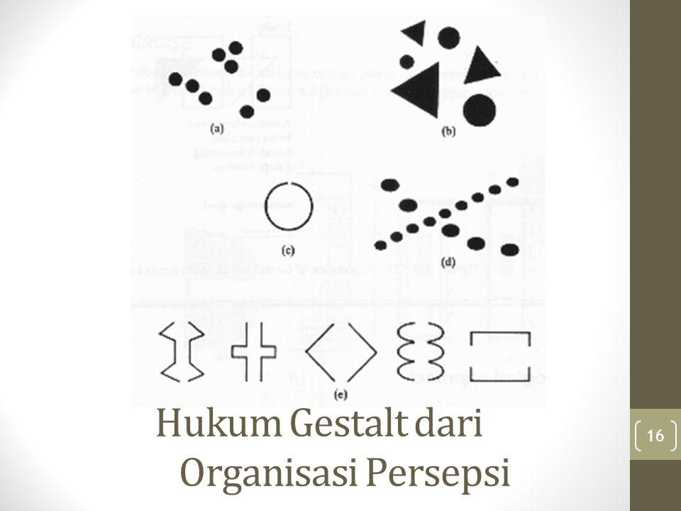Hukum Gestalt dari Organisasi Persepsi
