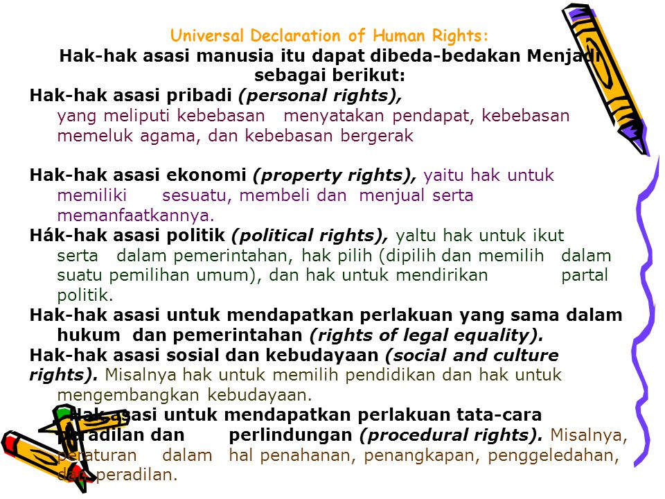 Universal Declaration of Human Rights: