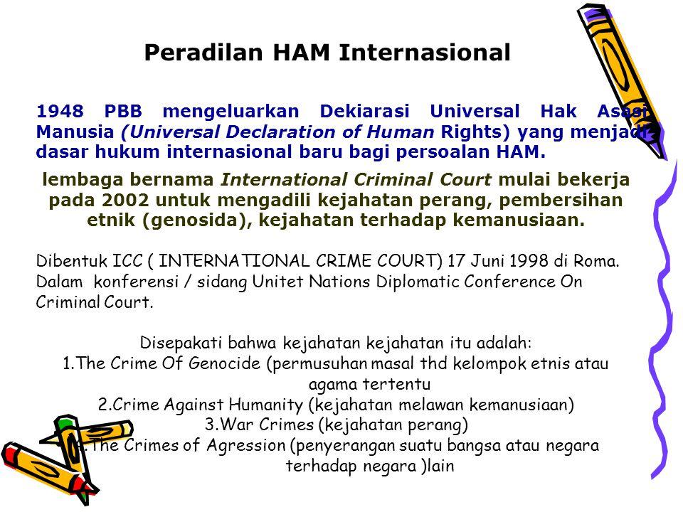 Peradilan HAM Internasional