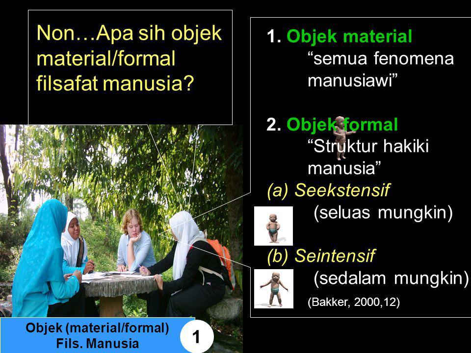 Objek (material/formal)
