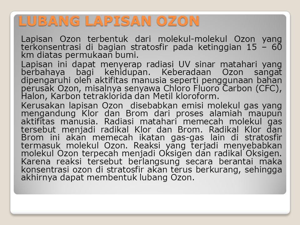 LUBANG LAPISAN OZON