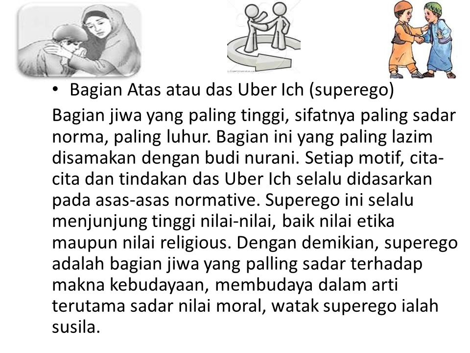 Bagian Atas atau das Uber Ich (superego)