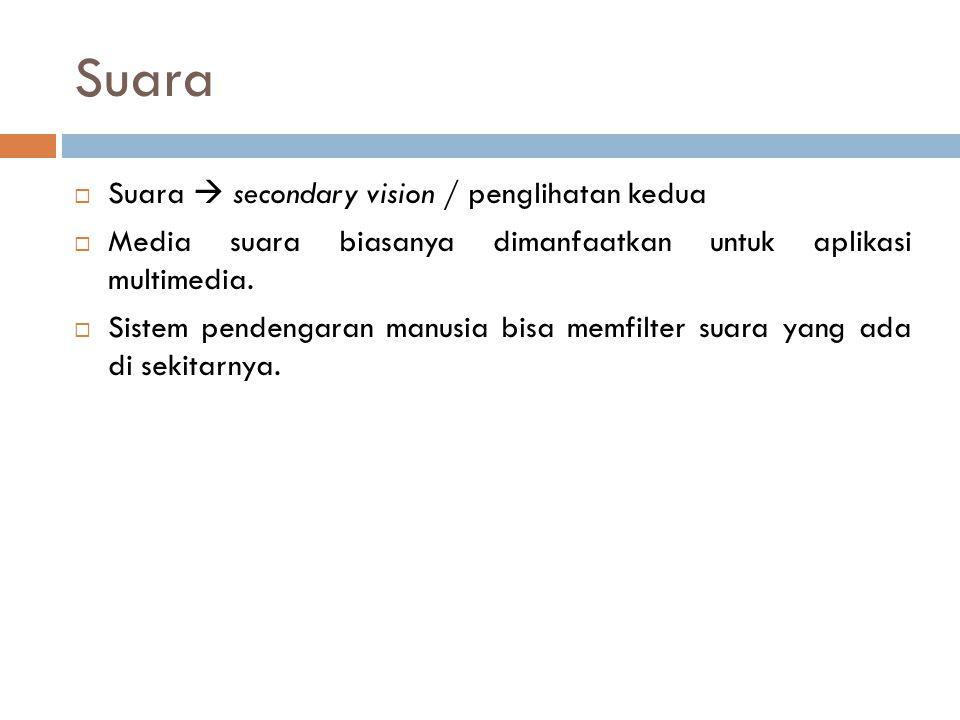Suara Suara  secondary vision / penglihatan kedua