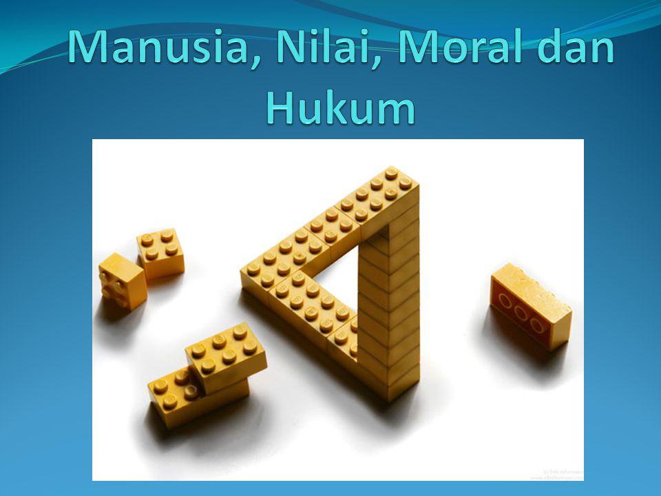 Manusia, Nilai, Moral dan Hukum