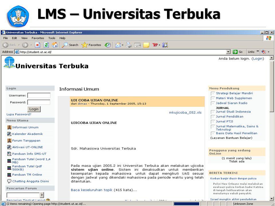 LMS – Universitas Terbuka