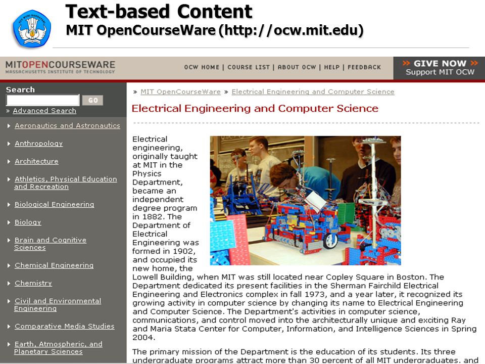 Text-based Content MIT OpenCourseWare (http://ocw.mit.edu)