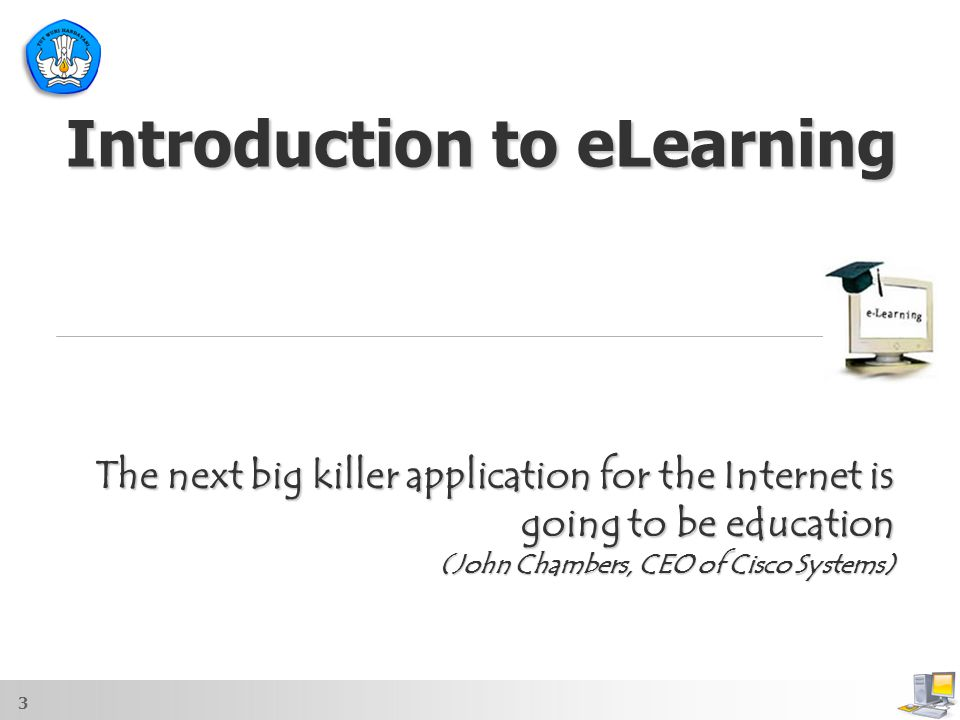 Introduction to eLearning