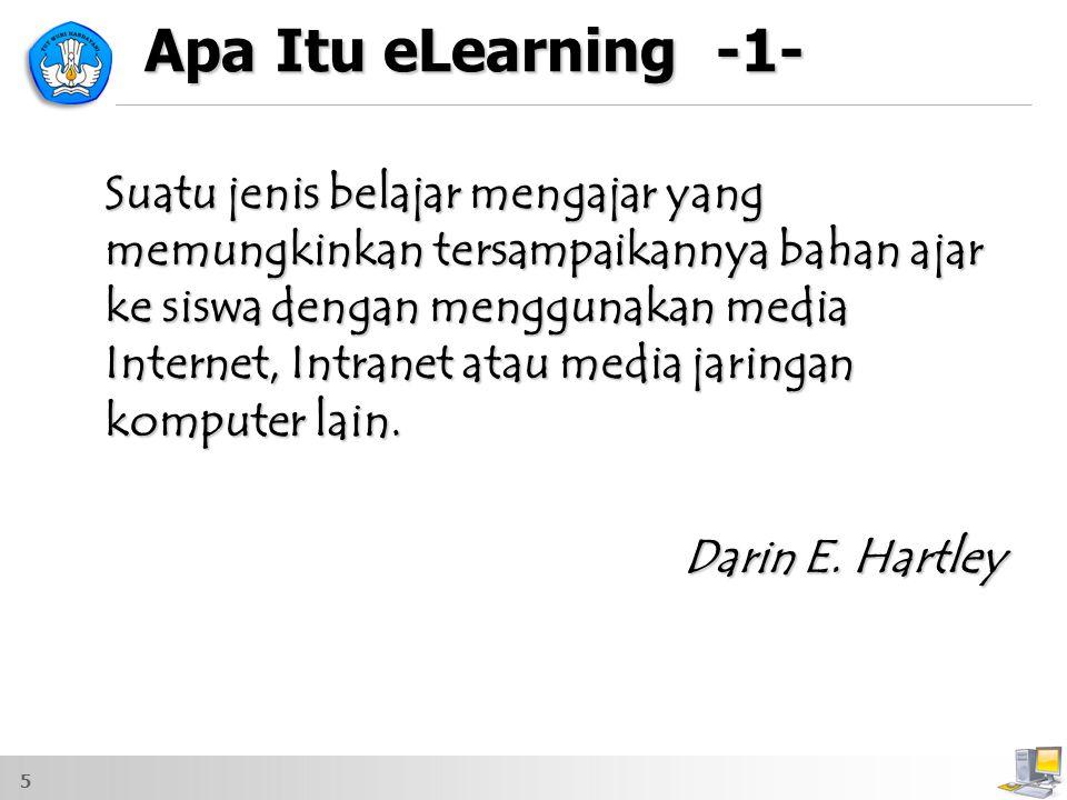 Apa Itu eLearning -1- Darin E. Hartley