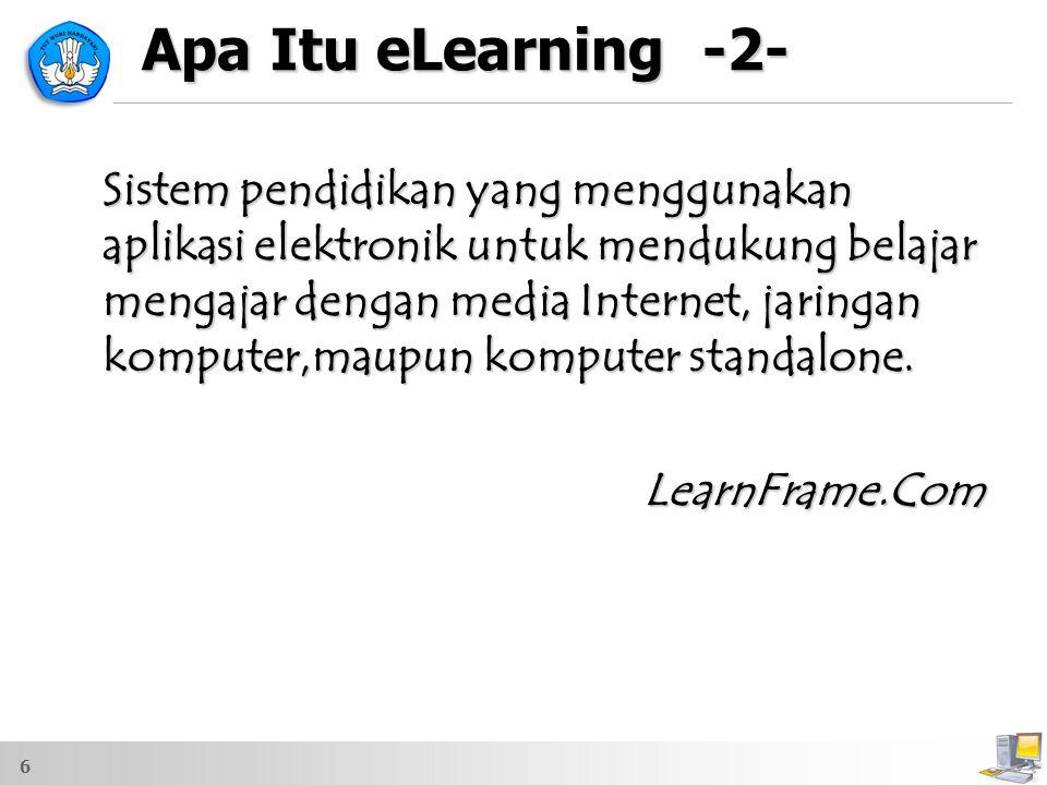 Apa Itu eLearning -2-