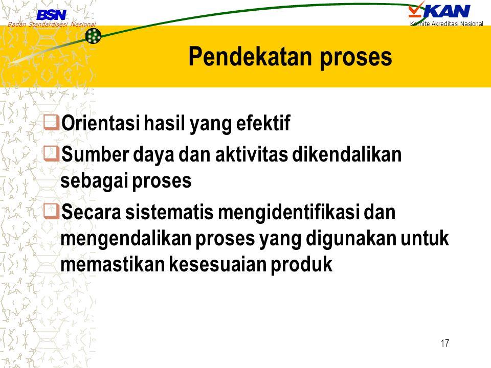 Pendekatan proses Orientasi hasil yang efektif