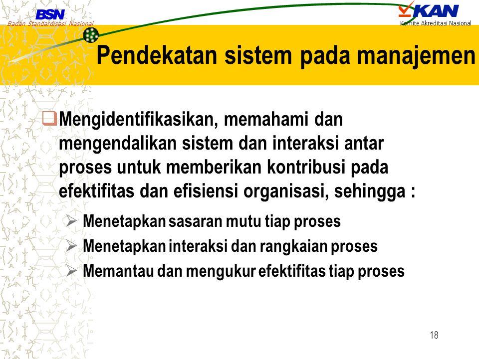 Pendekatan sistem pada manajemen