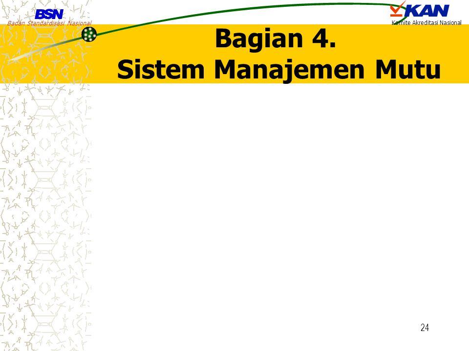 Bagian 4. Sistem Manajemen Mutu