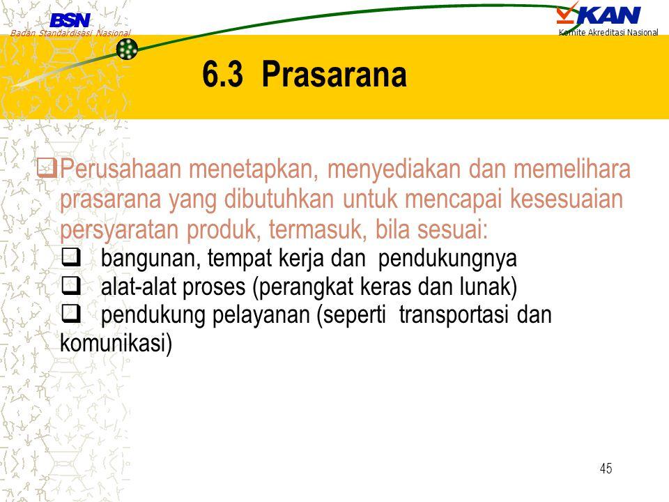 6.3 Prasarana