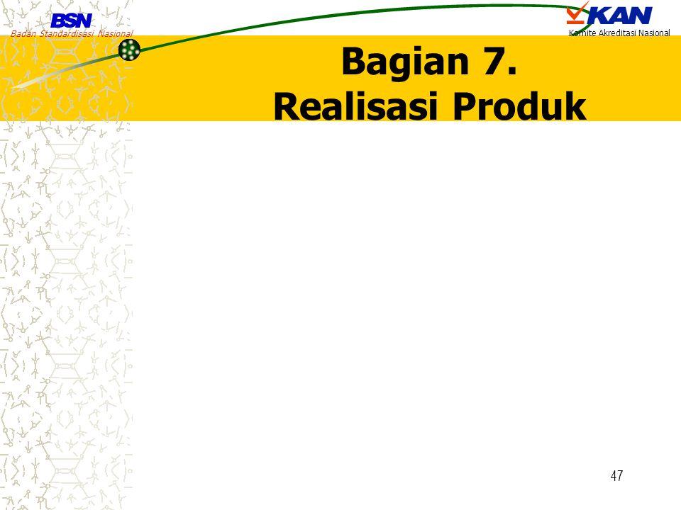 Bagian 7. Realisasi Produk