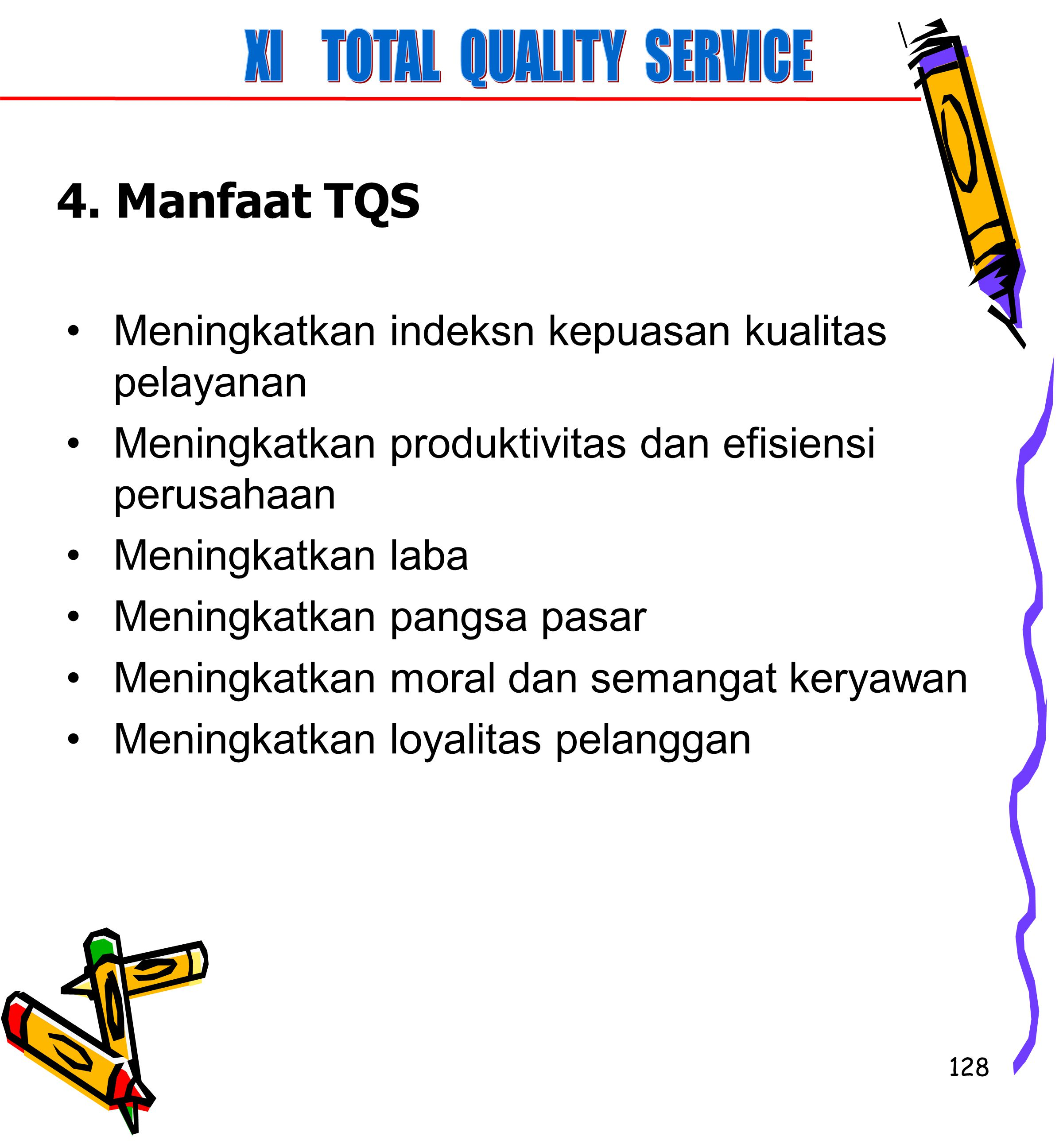 XI TOTAL QUALITY SERVICE
