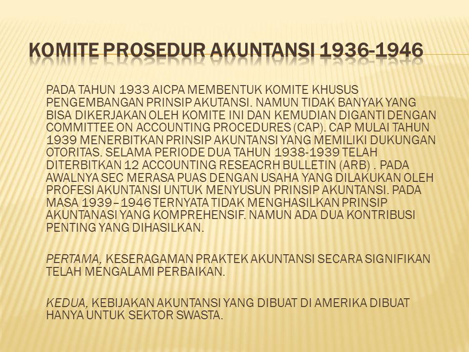 Komite Prosedur Akuntansi 1936-1946