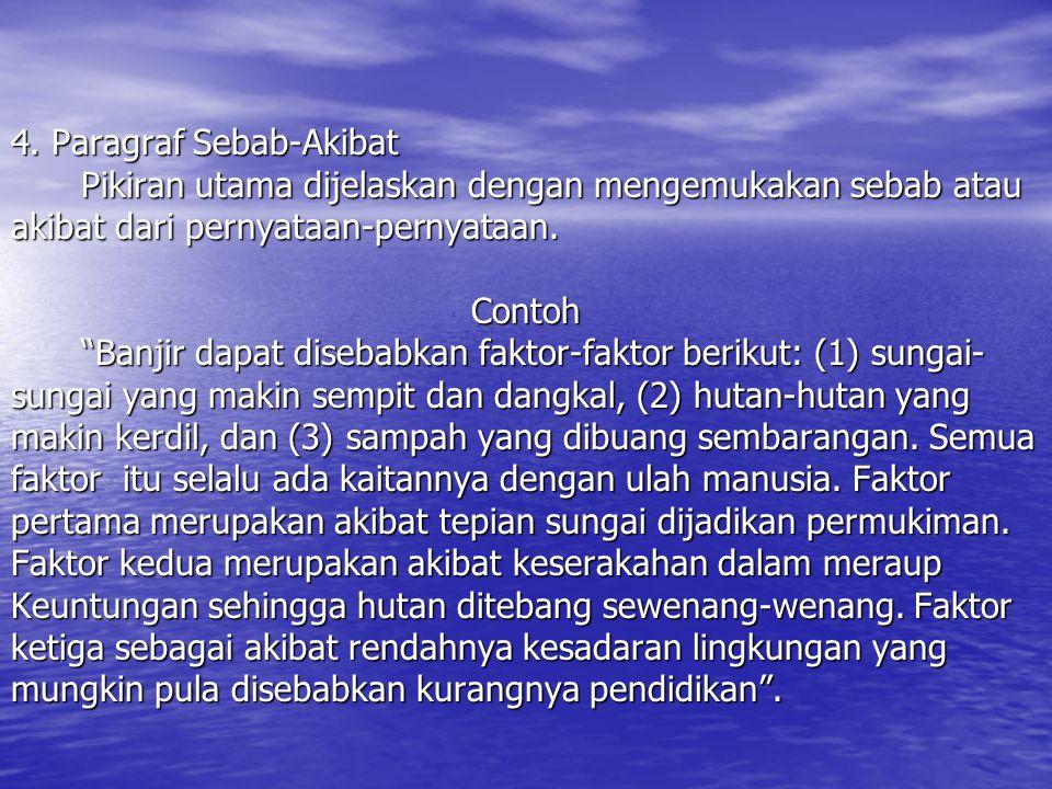 4. Paragraf Sebab-Akibat