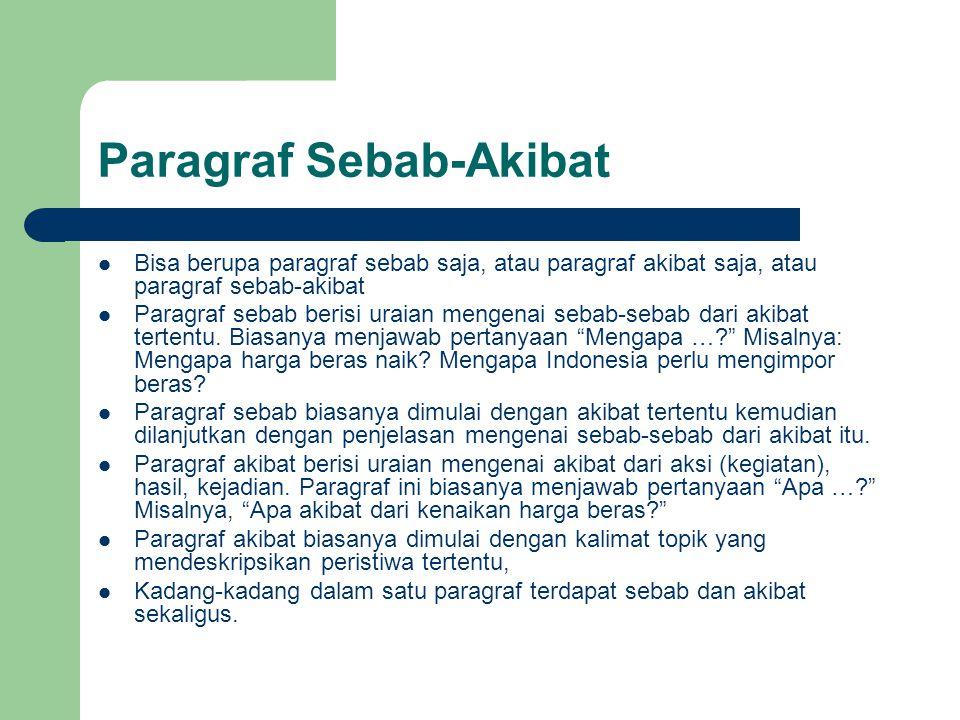 Paragraf Sebab-Akibat