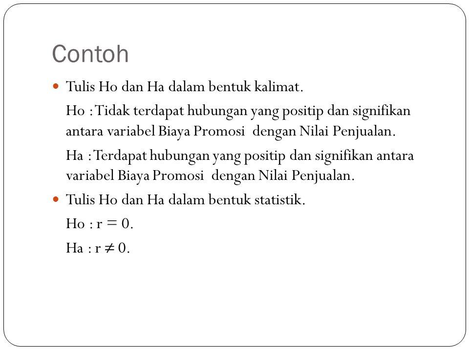 Contoh Tulis Ho dan Ha dalam bentuk kalimat.
