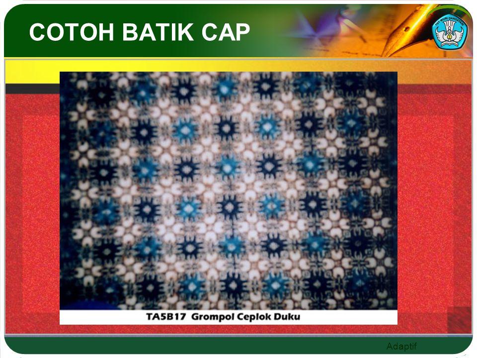 COTOH BATIK CAP