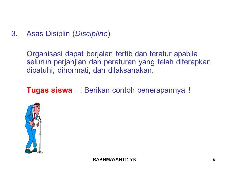 Asas Disiplin (Discipline)