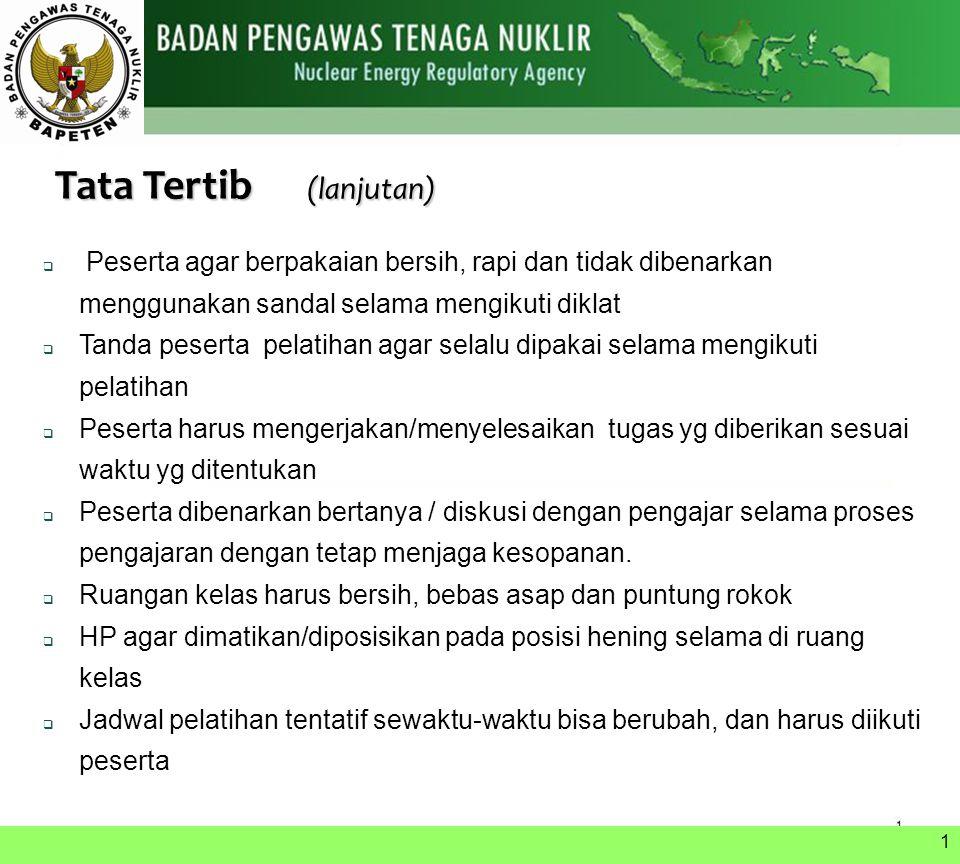 Tata Tertib (lanjutan)