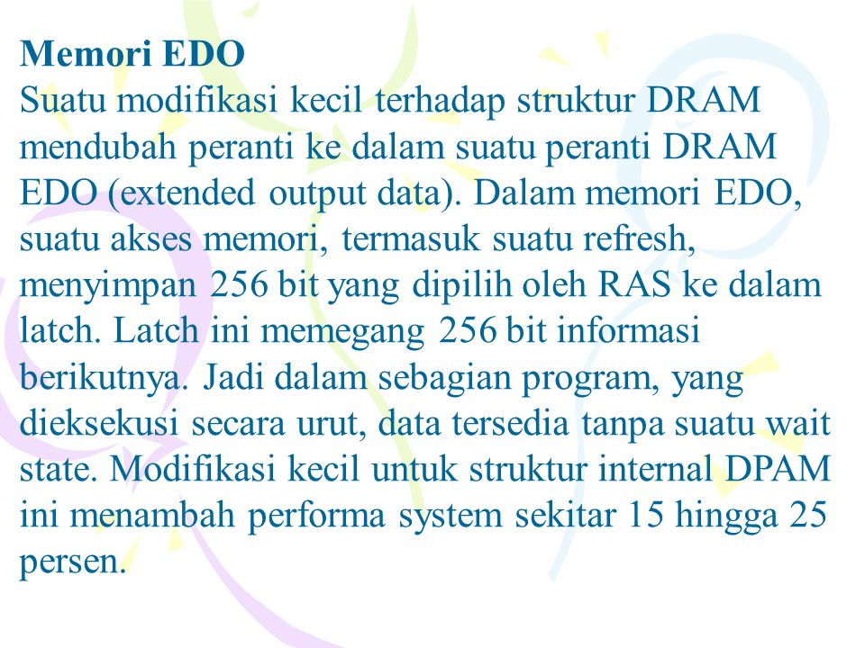 Memori EDO