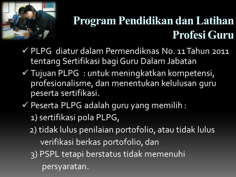 Program Pendidikan dan Latihan Profesi Guru