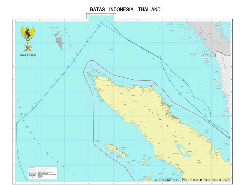 BATAS INDONESIA - THAILAND