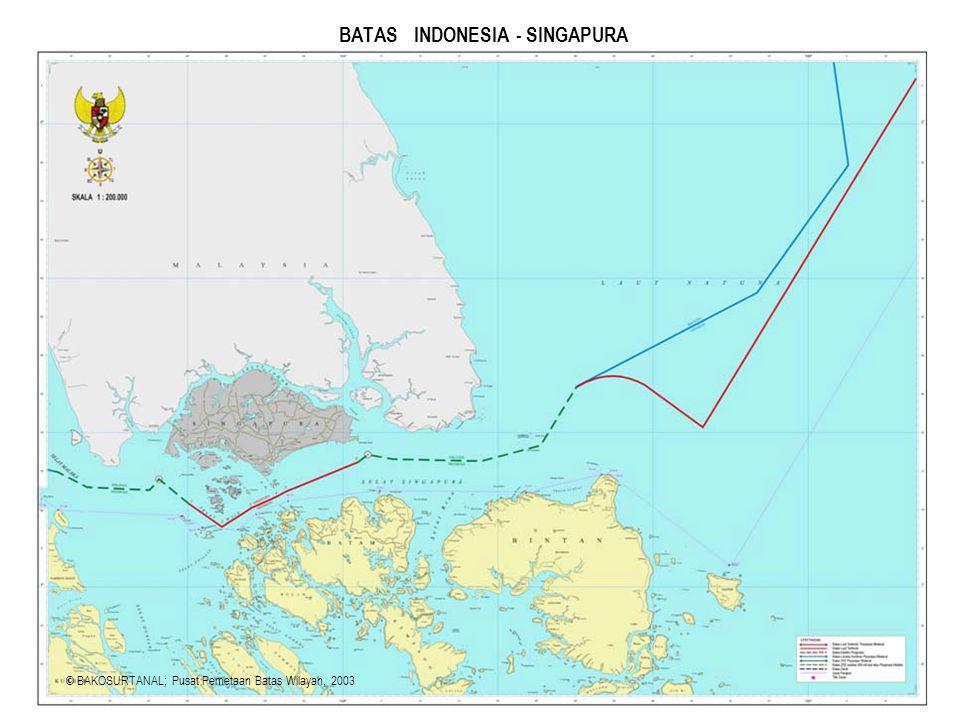 BATAS INDONESIA - SINGAPURA
