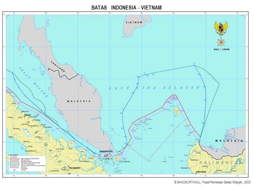 BATAS INDONESIA - VIETNAM