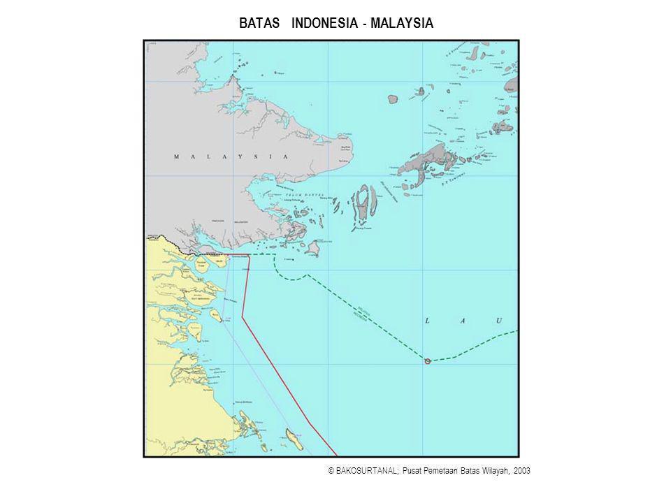 BATAS INDONESIA - MALAYSIA