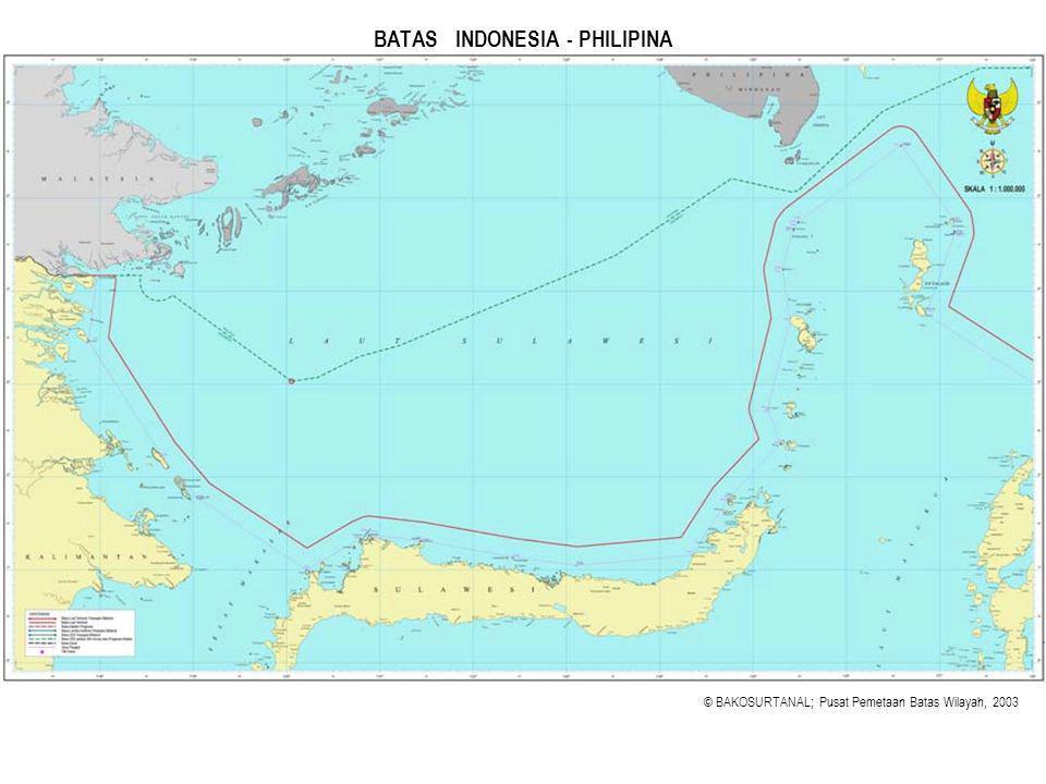 BATAS INDONESIA - PHILIPINA
