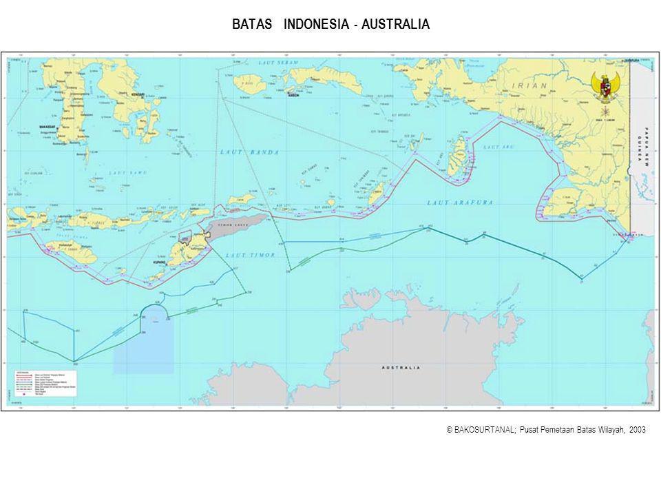 BATAS INDONESIA - AUSTRALIA