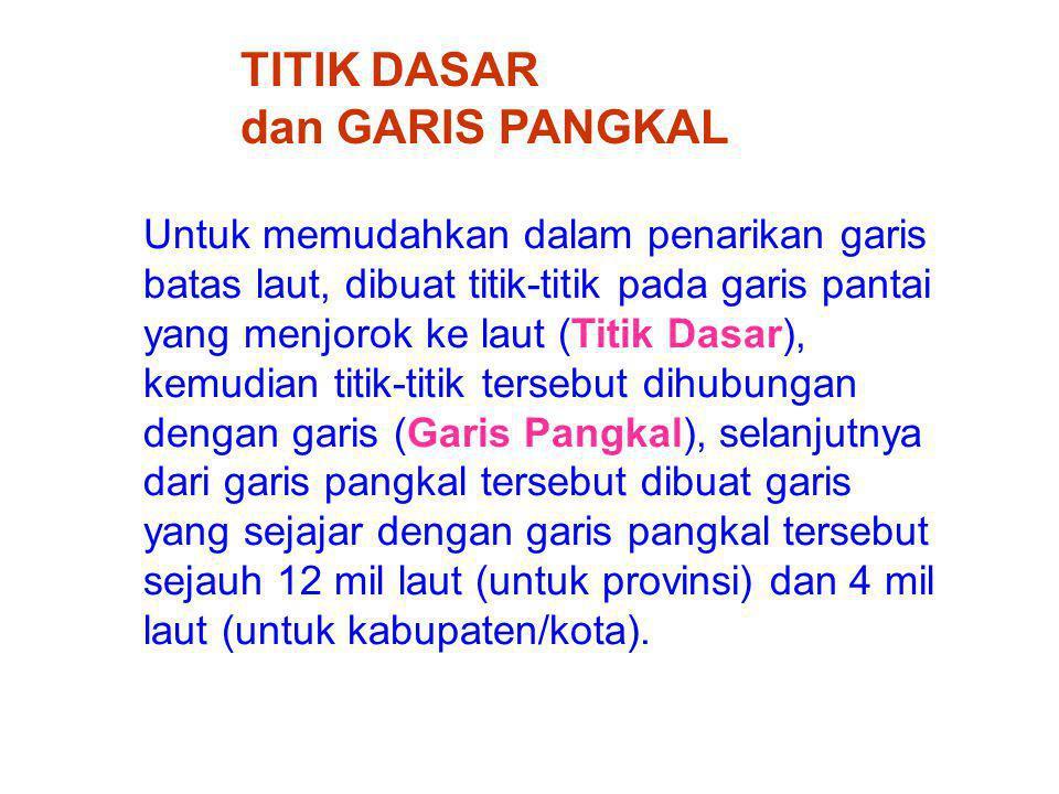 TITIK DASAR dan GARIS PANGKAL