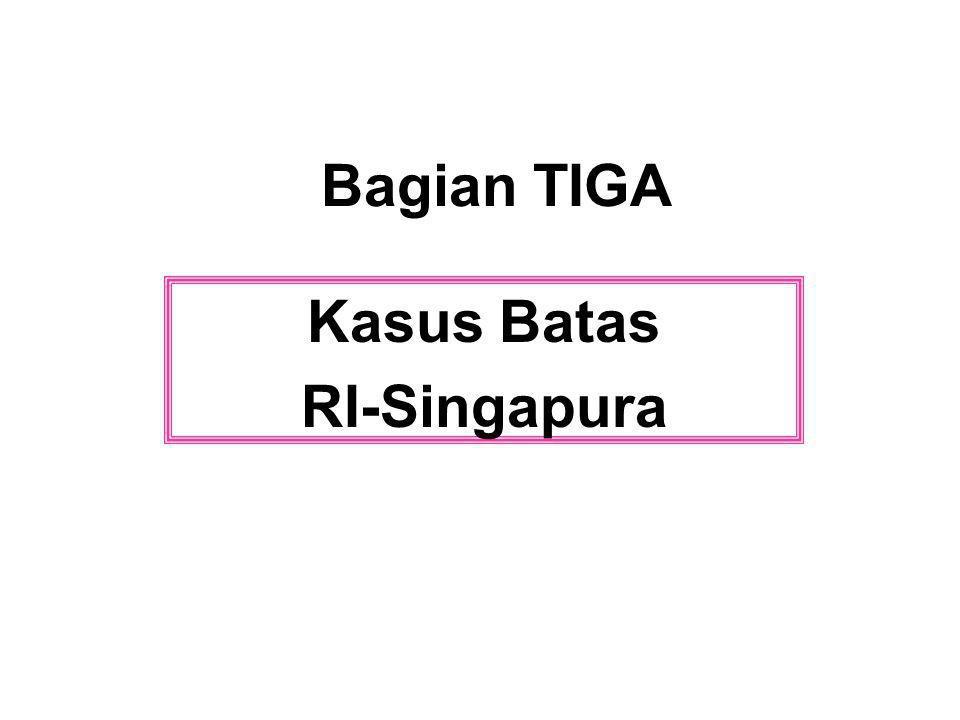 Kasus Batas RI-Singapura