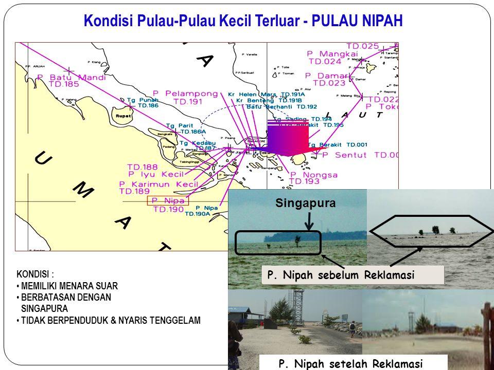 Kondisi Pulau-Pulau Kecil Terluar - PULAU NIPAH