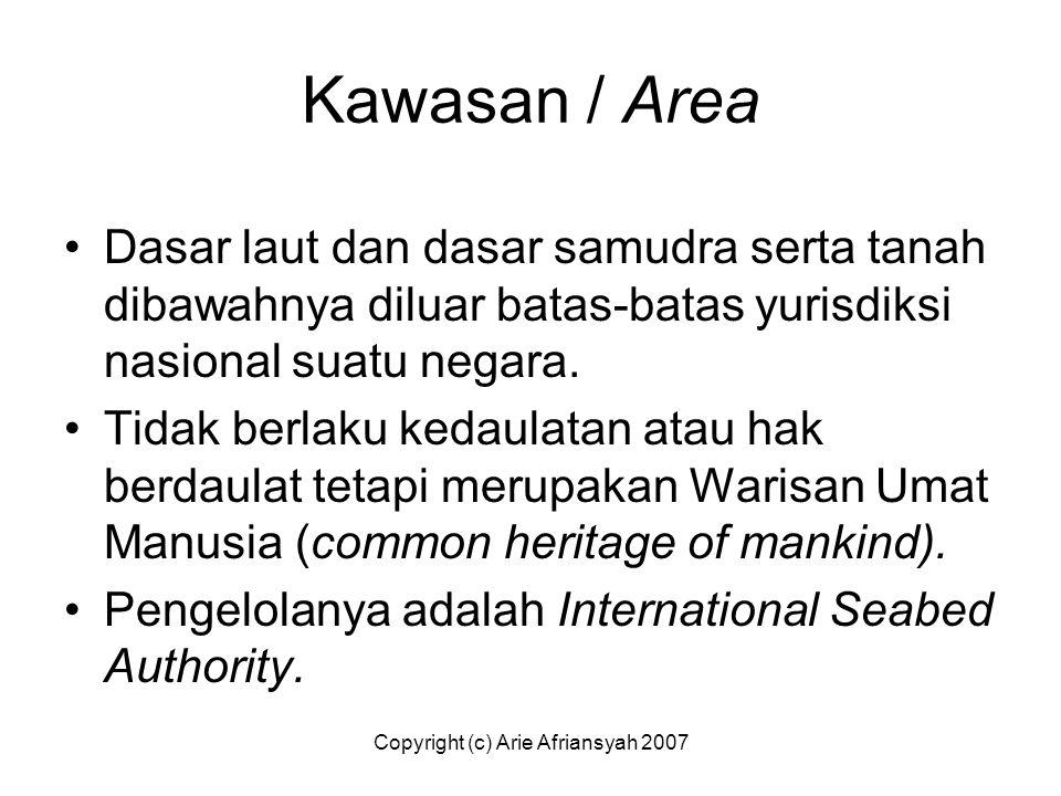 Copyright (c) Arie Afriansyah 2007