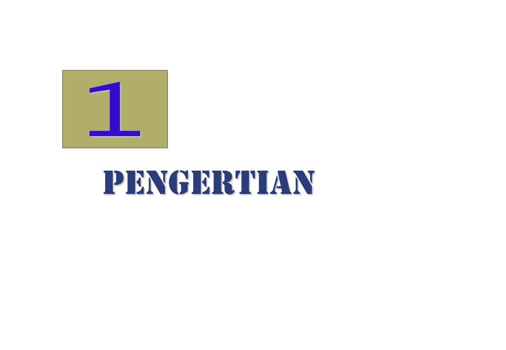 1 PENGERTIAN