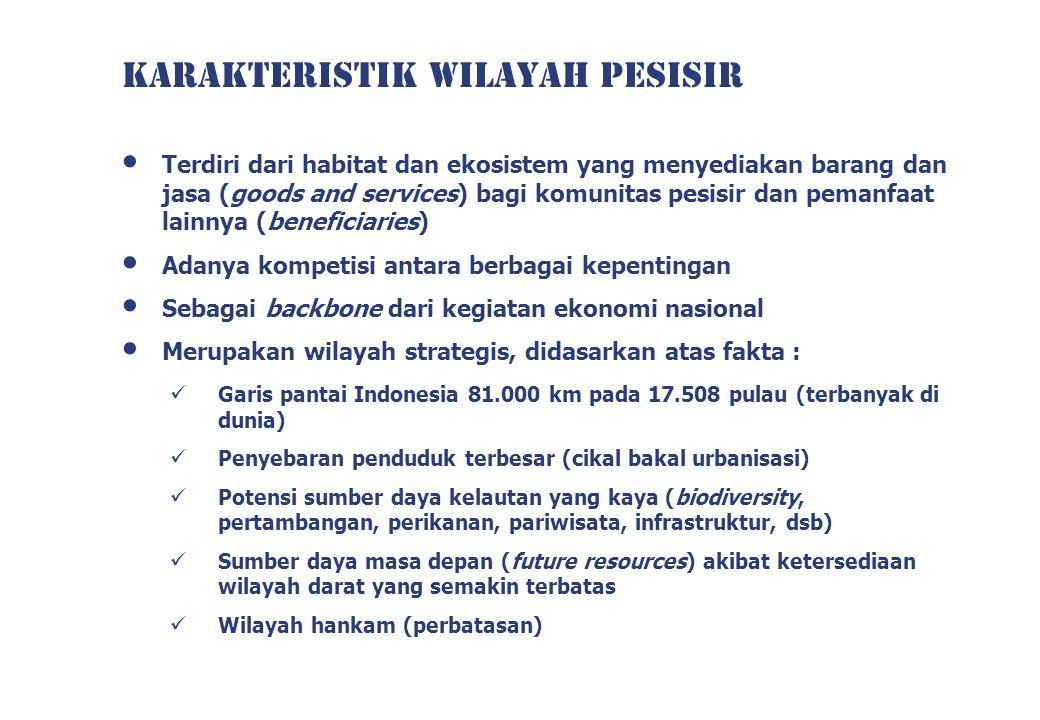 KARAKTERISTIK WILAYAH PESISIR