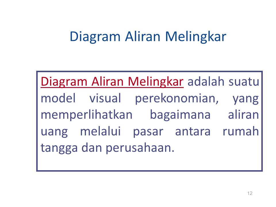 Diagram Aliran Melingkar
