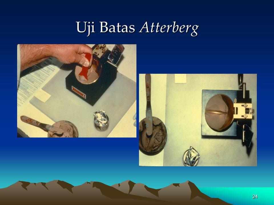 Alat uji batas Atterberg