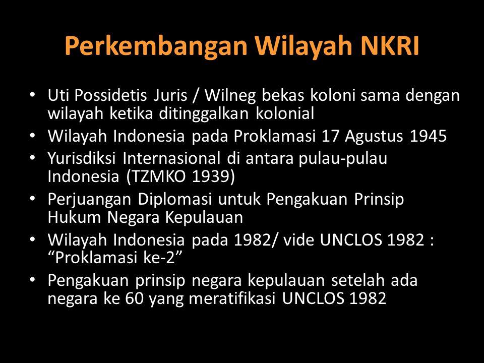 Perkembangan Wilayah NKRI