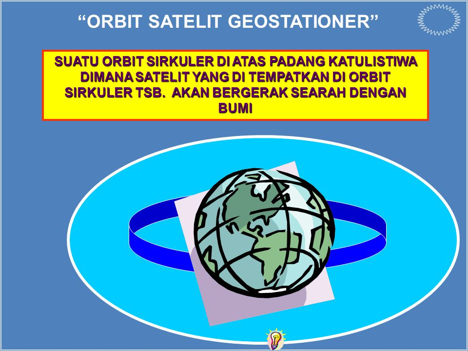 ORBIT SATELIT GEOSTATIONER