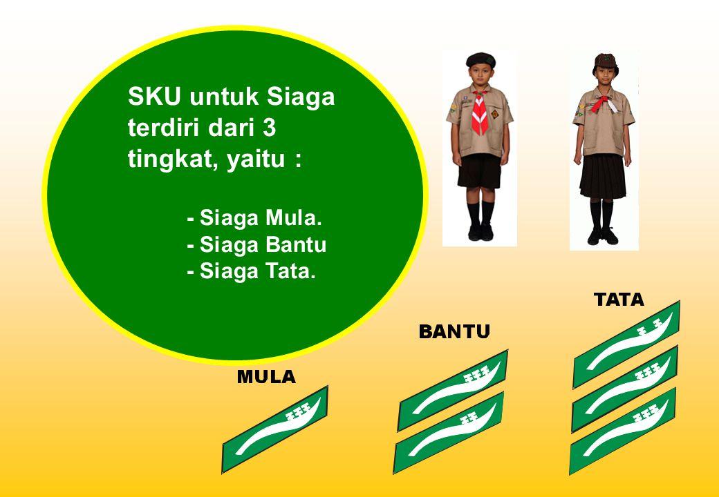 SKU untuk Siaga terdiri dari 3 tingkat, yaitu :